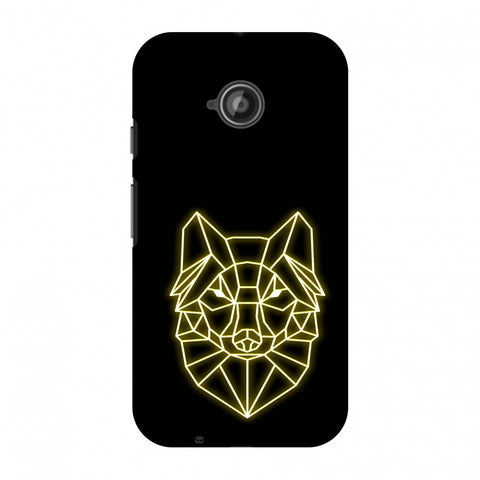 Clever Fox - Ochre Slim Hard Shell Case For Motorola Moto E 2nd Gen
