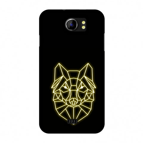 Clever Fox - Ochre Slim Hard Shell Case For Micromax Canvas 2 A110