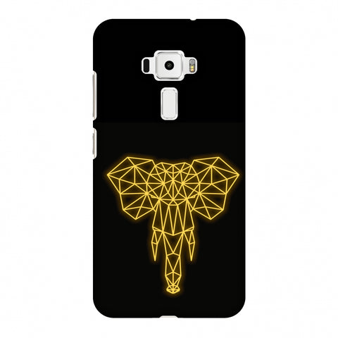 Elephant - Ochre Slim Hard Shell Case For Asus Zenfone 3 ZE520KL