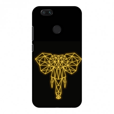 Elephant - Ochre Slim Hard Shell Case For Xiaomi MI A1-5X
