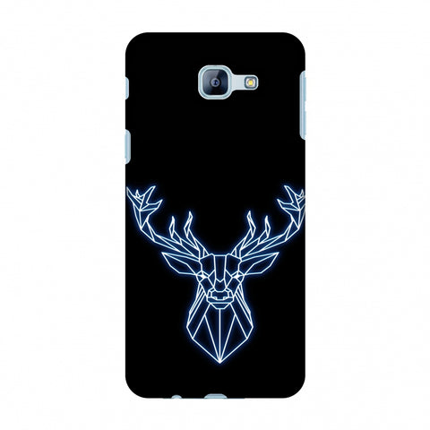 Reindeer - Teal Slim Hard Shell Case For Samsung Galaxy A8 2016