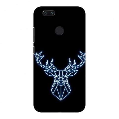 Reindeer - Teal Slim Hard Shell Case For Xiaomi MI A1-5X