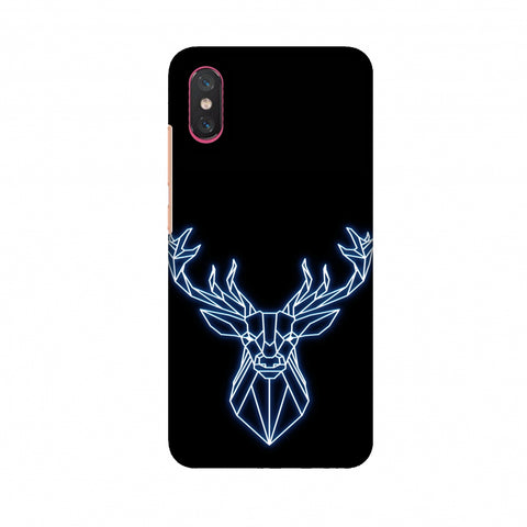 Reindeer - Teal Slim Hard Shell Case For Xiaomi Mi 8 Pro