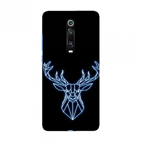 Reindeer - Teal Slim Hard Shell Case For Redmi K20/K20 Pro
