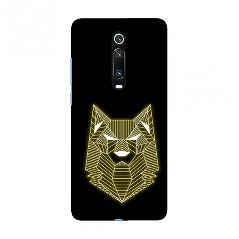 Wolf - Yellow Slim Hard Shell Case For Redmi K20/K20 Pro