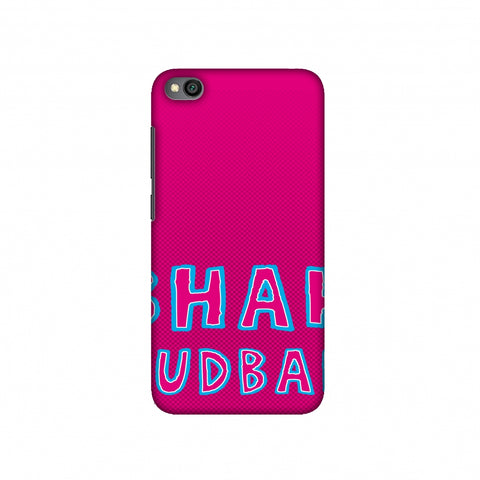 Bhank Budbak - Bright pink Slim Hard Shell Case For Redmi Go