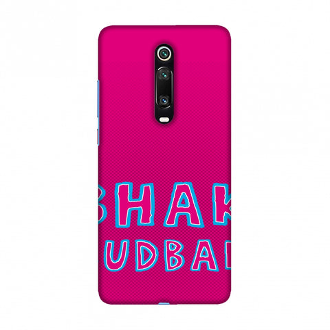 Bhank Budbak - Bright pink Slim Hard Shell Case For Redmi K20/K20 Pro