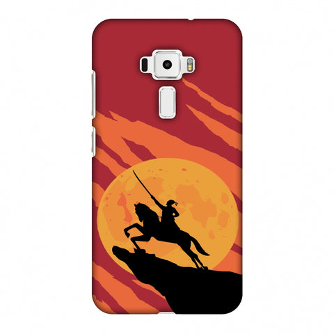 Shivaji - Burnt orange Slim Hard Shell Case For Asus Zenfone 3 ZE520KL