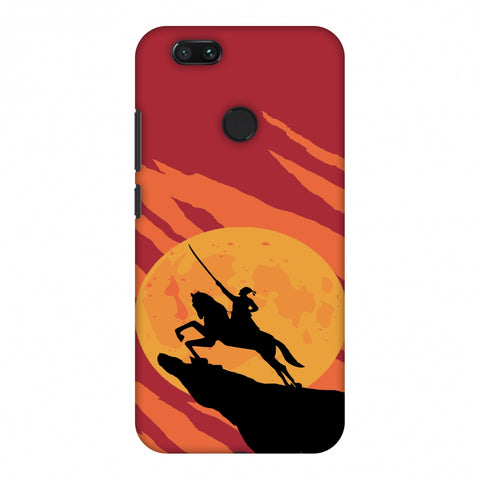 Shivaji - Burnt orange Slim Hard Shell Case For Xiaomi MI A1-5X