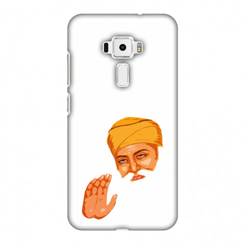 Guru Nanak Dev Ji Slim Hard Shell Case For Asus Zenfone 3 ZE520KL