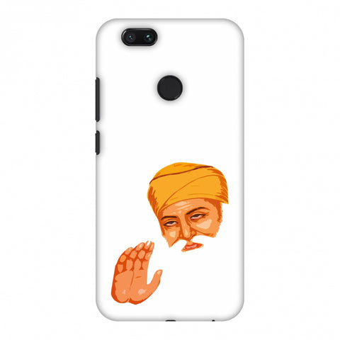 Guru Nanak Dev Ji Slim Hard Shell Case For Xiaomi MI A1-5X