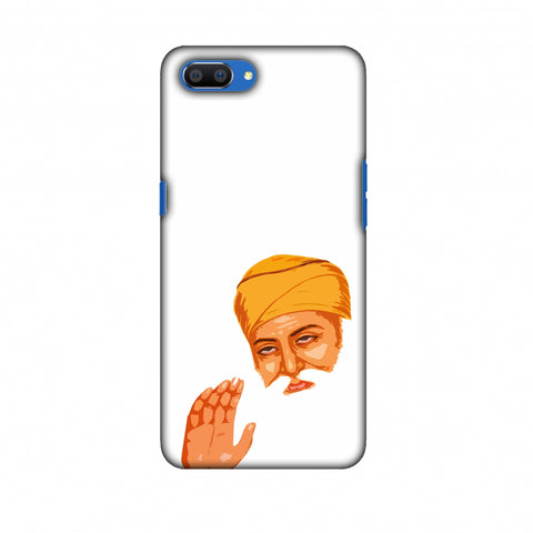 Guru Nanak Dev Ji Slim Hard Shell Case For Oppo Realme C1