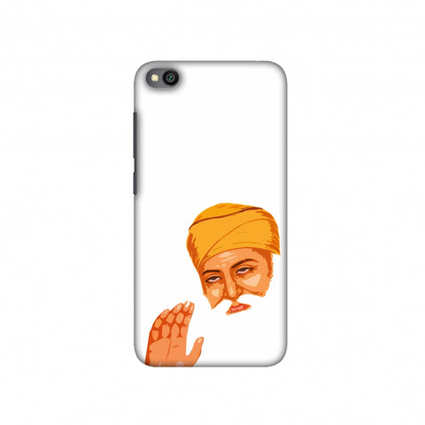 Guru Nanak Dev Ji Slim Hard Shell Case For Redmi Go