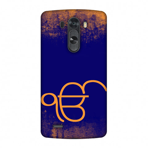 Ik Onkar Slim Hard Shell Case For LG G4