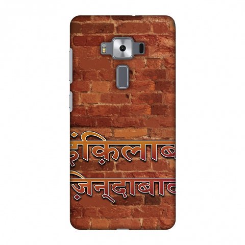 Inquilab Zindabad Slim Hard Shell Case For Asus Zenfone 3 Deluxe ZS570KL