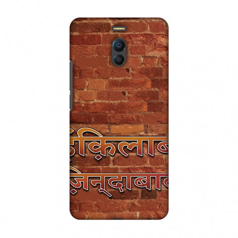 Inquilab Zindabad Slim Hard Shell Case For Meizu Note 6