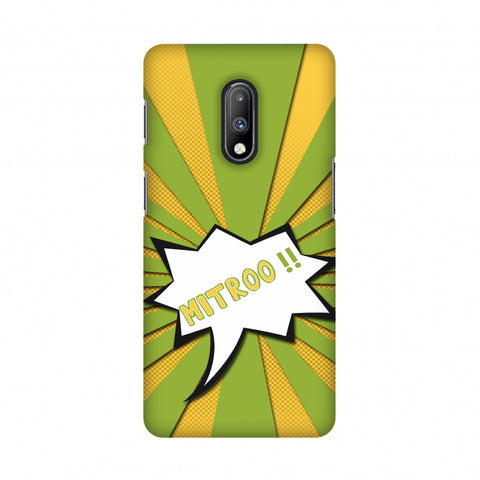Mitroo - Grass green Slim Hard Shell Case For OnePlus 7