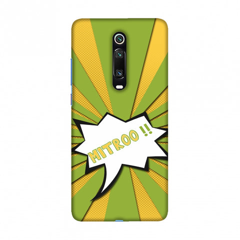 Mitroo - Grass green Slim Hard Shell Case For Redmi K20/K20 Pro