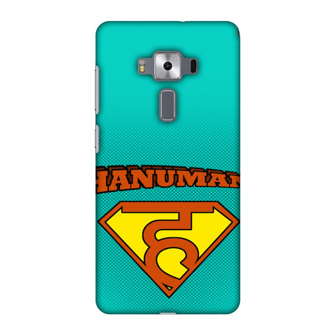 Hanu - Man - Teal Slim Hard Shell Case For Asus Zenfone 3 Deluxe ZS570KL