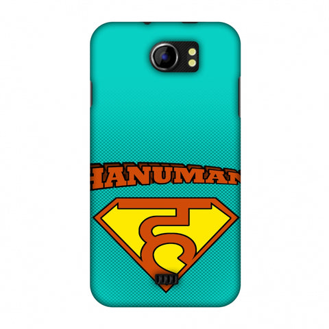 Hanu - Man - Teal Slim Hard Shell Case For Micromax Canvas 2 A110