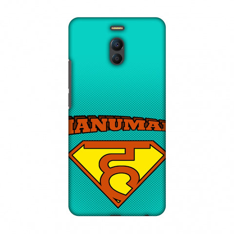 Hanu - Man - Teal Slim Hard Shell Case For Meizu Note 6
