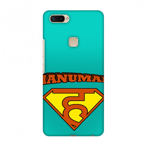 Hanu - Man - Teal Slim Hard Shell Case For Vivo X20 Plus