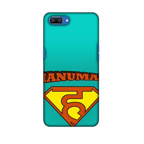 Hanu - Man - Teal Slim Hard Shell Case For Oppo Realme C1