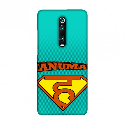 Hanu - Man - Teal Slim Hard Shell Case For Redmi K20/K20 Pro