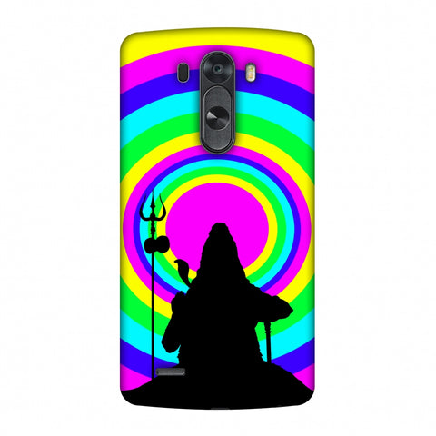 Shiva Psychedelic Slim Hard Shell Case For LG G4