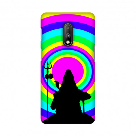 Shiva Psychedelic Slim Hard Shell Case For OnePlus 7