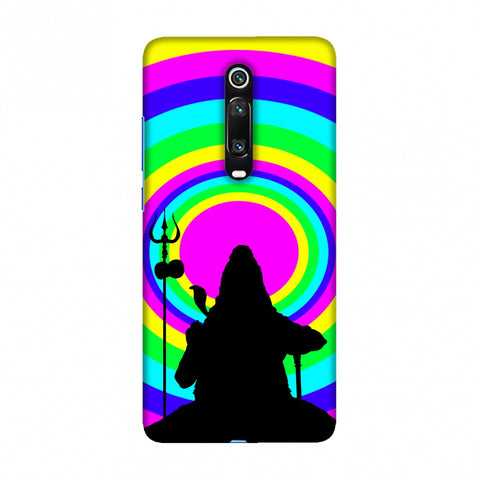 Shiva Psychedelic Slim Hard Shell Case For Redmi K20/K20 Pro