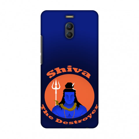 Shiva - The Destroyer - Blue Slim Hard Shell Case For Meizu Note 6