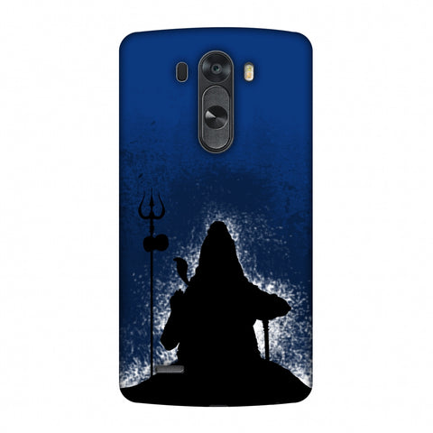 Shiva - Meditation - Blue Slim Hard Shell Case For LG G4