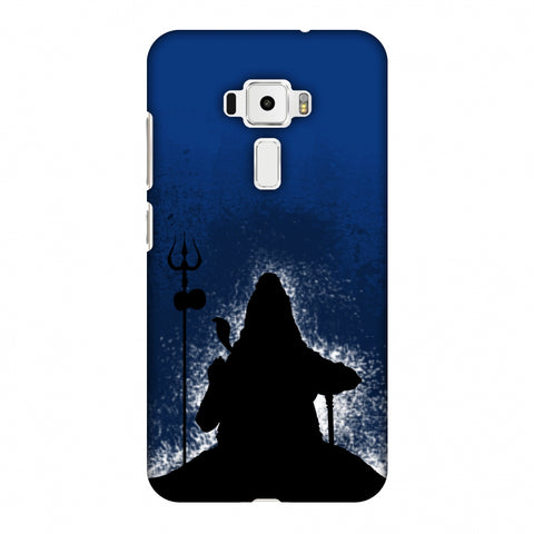 Shiva - Meditation - Blue Slim Hard Shell Case For Asus Zenfone 3 ZE520KL
