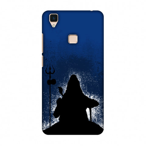 Shiva - Meditation - Blue Slim Hard Shell Case For Vivo V3