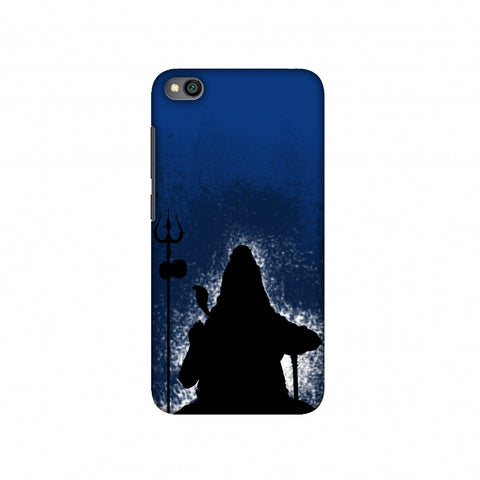 Shiva - Meditation - Blue Slim Hard Shell Case For Redmi Go