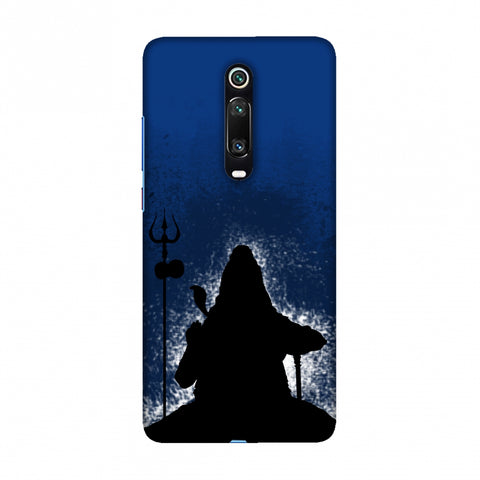 Shiva - Meditation - Blue Slim Hard Shell Case For Redmi K20/K20 Pro