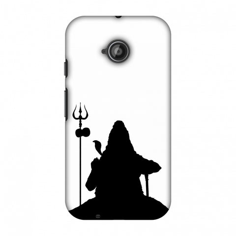Shiva - Meditation - White Slim Hard Shell Case For Motorola Moto E 2nd Gen