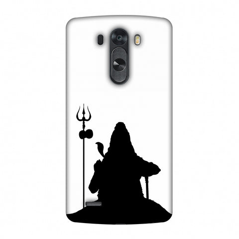 Shiva - Meditation - White Slim Hard Shell Case For LG G4