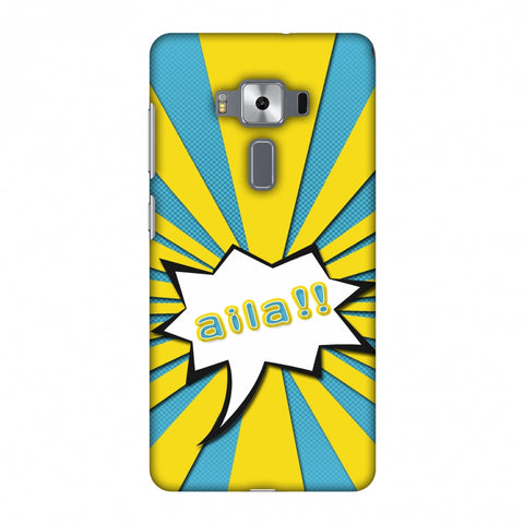 Sachin - Illustrations - Aila - Teal Slim Hard Shell Case For Asus Zenfone 3 Deluxe ZS570KL