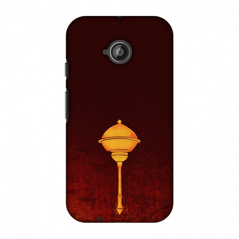 Hanuman - The Protector - Burnt Orange Slim Hard Shell Case For Motorola Moto E 2nd Gen