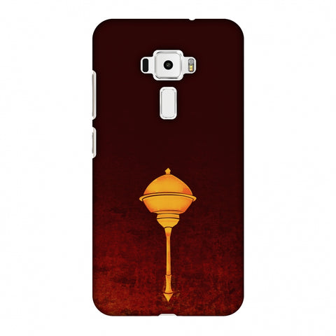 Hanuman - The Protector - Burnt Orange Slim Hard Shell Case For Asus Zenfone 3 ZE520KL