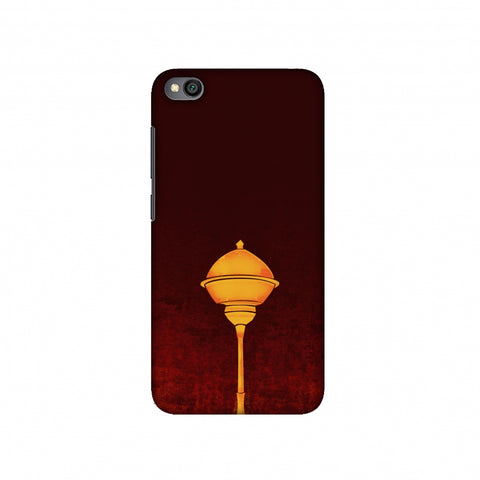 Hanuman - The Protector - Burnt Orange Slim Hard Shell Case For Redmi Go