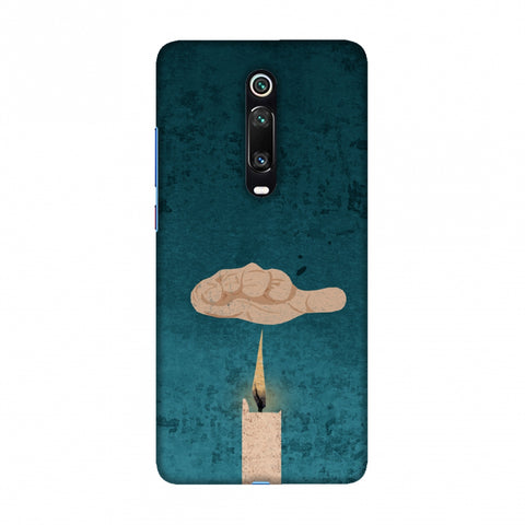 Bhagat Singh - The Promise - Teal Slim Hard Shell Case For Redmi K20/K20 Pro