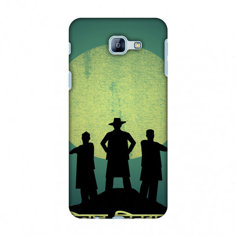 Inquilab Zindabad - Portrait - Teal Slim Hard Shell Case For Samsung Galaxy A8 2016