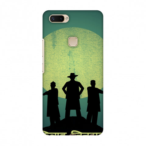 Inquilab Zindabad - Portrait - Teal Slim Hard Shell Case For Vivo X20 Plus
