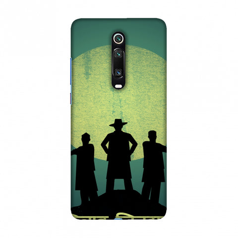 Inquilab Zindabad - Portrait - Teal Slim Hard Shell Case For Redmi K20/K20 Pro