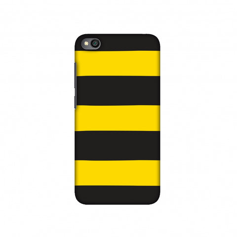 Bees - Fat Stripes Slim Hard Shell Case For Redmi Go