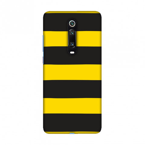Bees - Fat Stripes Slim Hard Shell Case For Redmi K20/K20 Pro