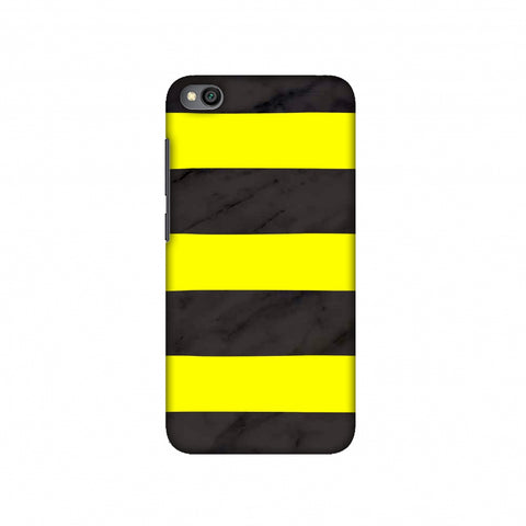 Bees - Marble Stripes - Black Slim Hard Shell Case For Redmi Go